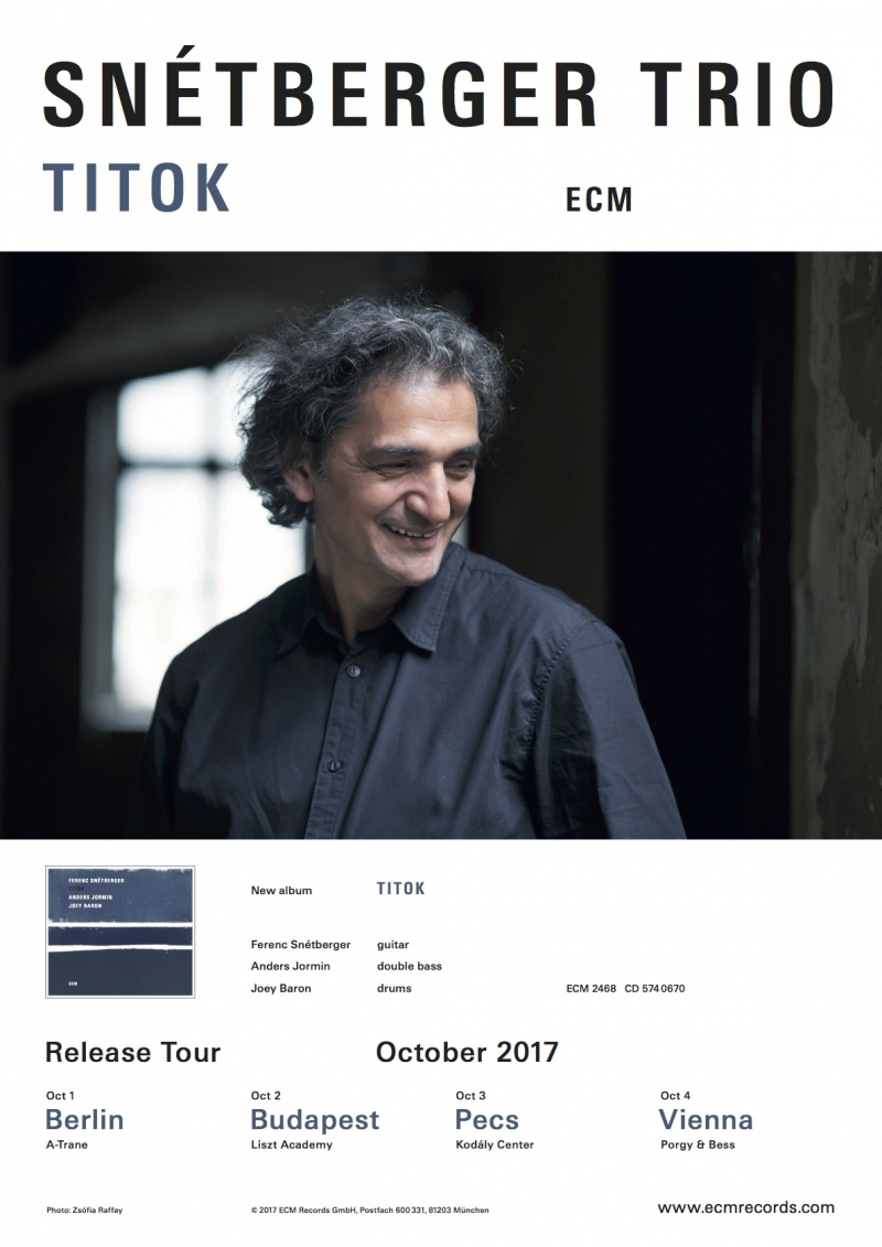 TITOK ALBUM RELEASE TOUR OCT. 17
