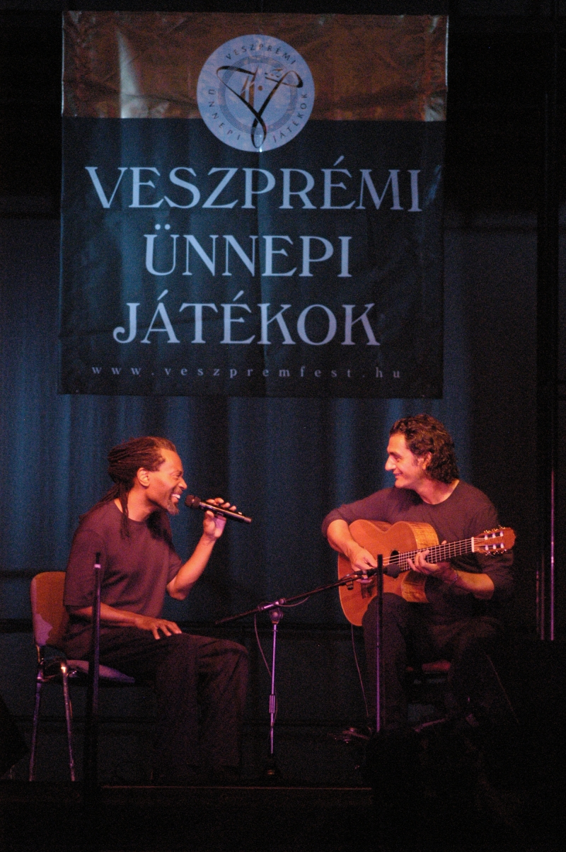 WITH BOBBY MCFERRIN  | VESZPRÉMFEST 2005 - ©VeszpremFest