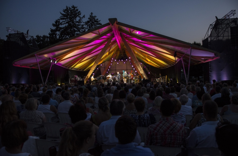 Open Air Concert I Eszterházy CastleI I Snétberger Quartet & guests I 2015 - © Zsigmont Csákvári