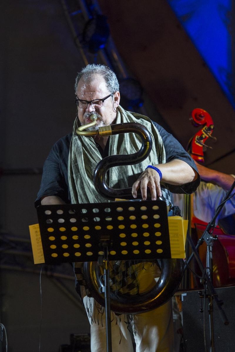Eszterházi Vigasságok I Snétberger Quartet I  vendégei Tony Lakatos I  Michel Godard I 2015 - © Csákvári Zsigmont