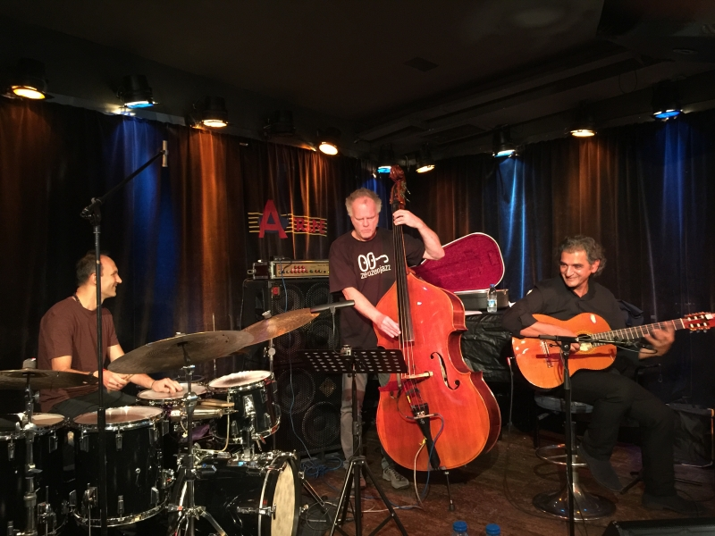 TITOK ALBUM RELEASE TOUR OCT. 17 - soundcheck Berlin with Anders Jormin & Ferenc Németh