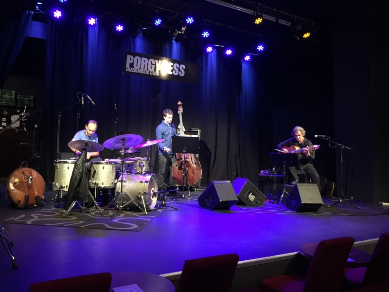 TITOK ALBUM RELEASE TOUR OCT. 17 - soundcheck Wien with Phil Donkin & Ferenc Németh
