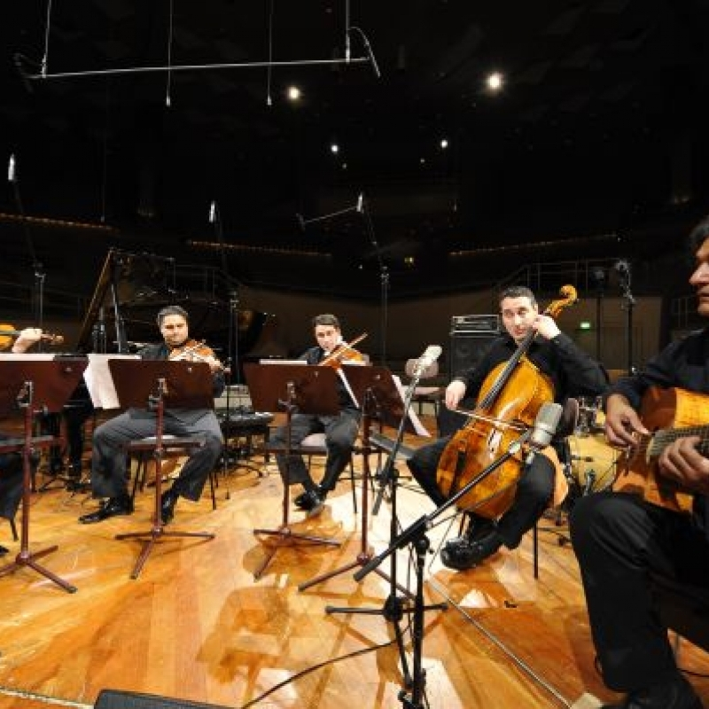 Berlin, Philharmonie, KMS, mit Nádor Streichquartett, 2010