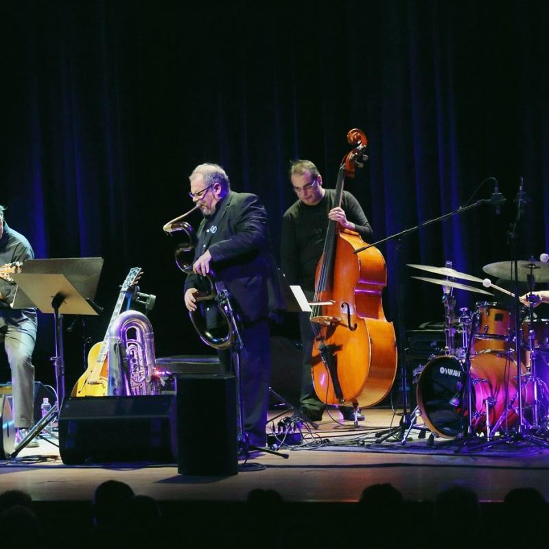 Pécs I Kodály Központ I Quartet & Michel Godard I 2014